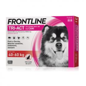 Frontline Tri-Act Dogs 40-60 kg 6 pipettes da 6 ml