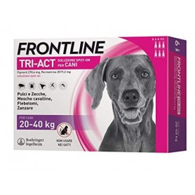 Frontline Tri-Act Dogs 20-40 kg 6 pipettes 4 ml