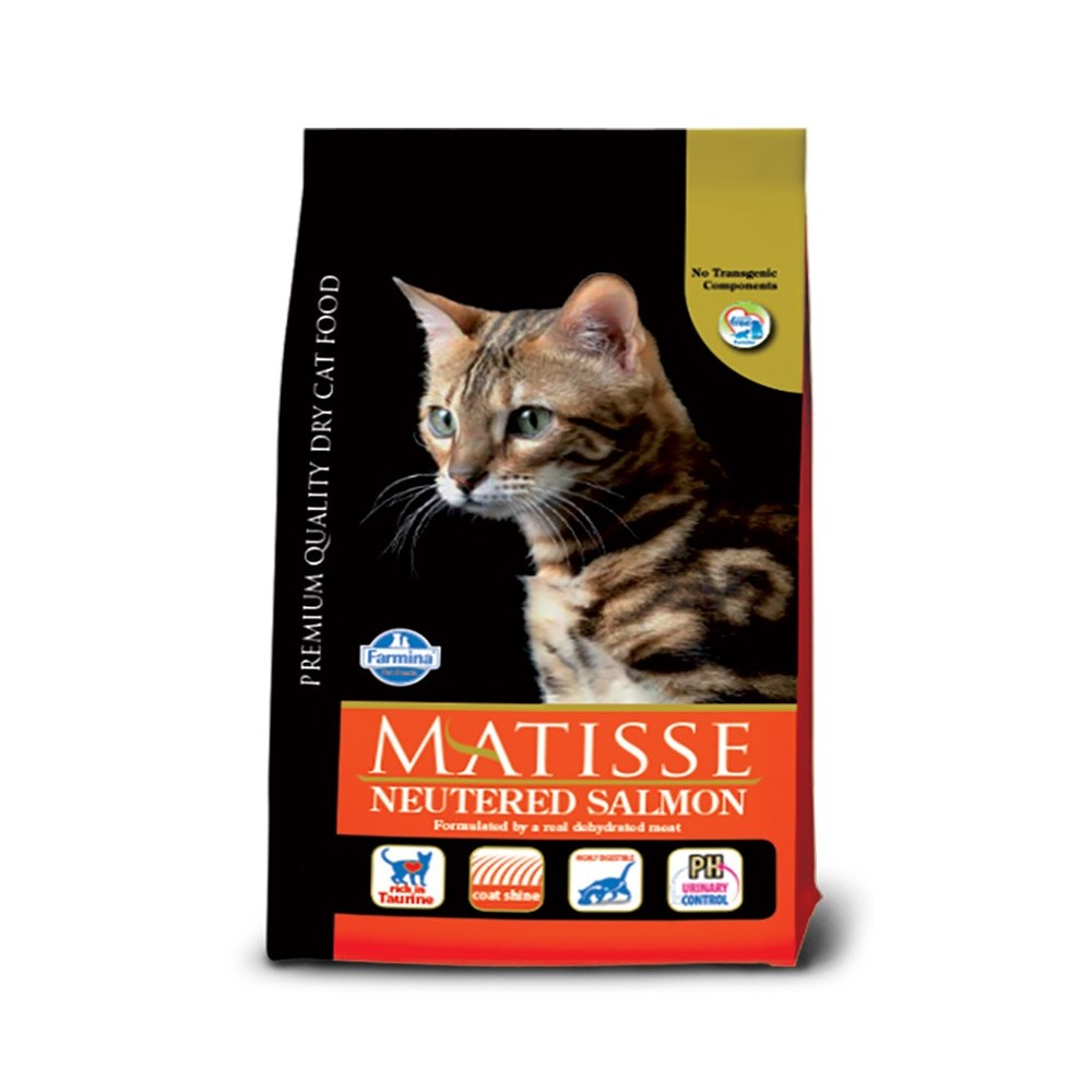 Matisse Neutered Salmon 10 Kg Petplusultra