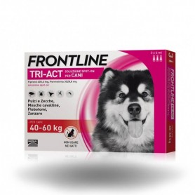 Frontline Tri-Act Cani 40-60 kg 3 Pipettes 6 ml