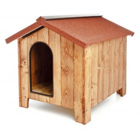 Fortesan LUXURY 2 Wooden Kennel 80 x 60 cm H.60 cm