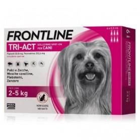 Frontline Tri-Act Cani 2-5 kg 6 fiale da 0,5 ml