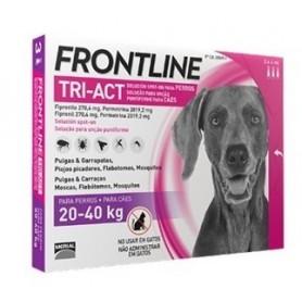 Frontline Tri-Act Cani 20-40 kg 3 fiale da 4 ml
