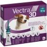 Vectra 3D CANE 4/10 Kg (3 pipette)