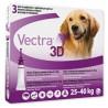 VECTRA 3D CANE 25 - 40 Kg (3 pipette)