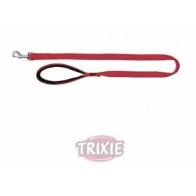 TRIXIE - Premium Leash Size M - L Red 100x20 mm