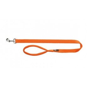 TRIXIE - Premium Leash Size M - L Orange 100x20 mm