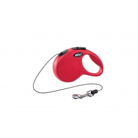Flexi New Classic XS Red 3m Cord (Max 8 kg)