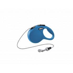 Flexi New CLASSIC XS Blu 3m Corda (Max 8 kg)
