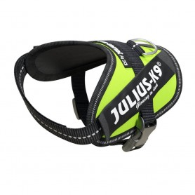 JULIUS-K9 Powerharness IDC Mis. Baby 2 XS-S Fluo Yellow