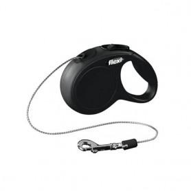 Flexi New Classic XS Black 3m Cord (Max 8 kg)