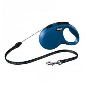 Flexi New CLASSIC M Blu 5m Corda (Max 20 kg)