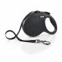 Flexi New Classic L Black 8m Tape (Max 50 kg)