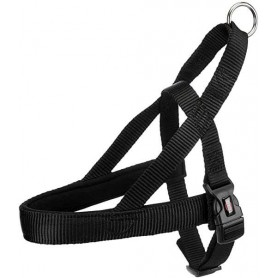TRIXIE Harness Premium Comfort Norwegian S-M Black