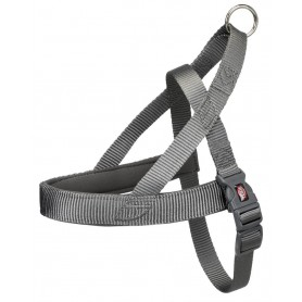 TRIXIE Harness Premium Comfort Norwegian S-M Grey
