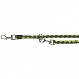 TRIXIE Leash Tubular Trainer S-M Forest/Green