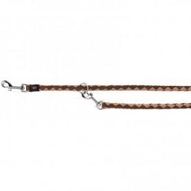 TRIXIE Leash Tubular Trainer L-XL Brown/Beige
