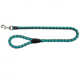 TRIXIE Leash Tubular Bicolored L-XL Aquamarine/Grey