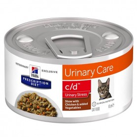 PROMO 24 PZ Hill's Prescription Diet c/d Feline Urinary Care Stress Stew 2x12Pz